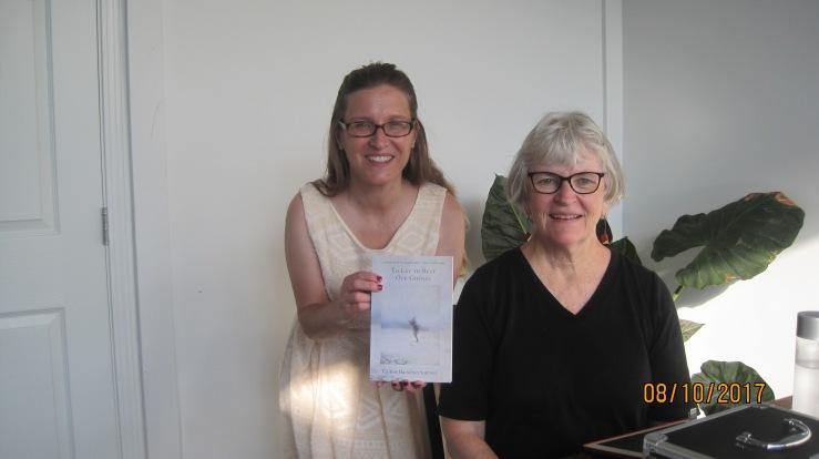 Caitlin Hamilton Summie book launch photo